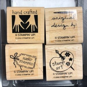 "Stampin' Up! ""Handmade with Love II"" Stamp Set"